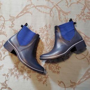 Kate Spade Blue Sedgwick Women's Rain Boots